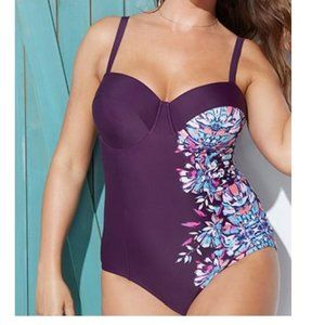 Swimsuits For All underwire Foster One Piece !